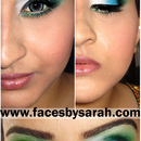 WICKED inspired Green smokey
