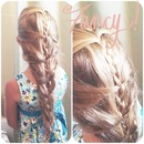 Pinterest inspired braid.