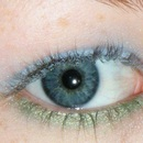 blue and green to pop eye colour