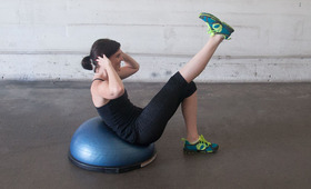 Three Minutes, Three Exercises: Bosu Ball Routine Part 2