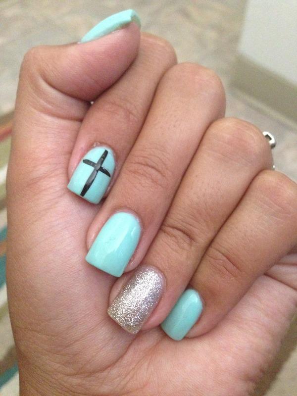 Teal Nails Lydia Os Photo Beautylish