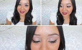 Pink Champagne - My 1st tutorial of 2013!