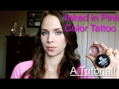Colored Ink Tattoos Maybelline Inked in Pink Color