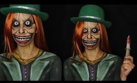 Creepy Scary Leprechaun Makeup Tutorial