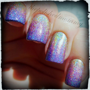February Nail Art Challenge: Ombre. http://www.thepolishedmommy.com/2013/02/springtime-rainbows.html