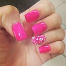 Nails #Pink #cheetah