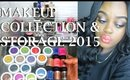 Makeup Collection Storage & Organization 2015