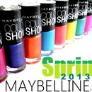 Swatches - NEW Maybelline Color Show Spring collection