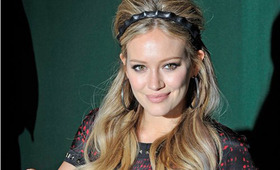 "Hilary Duff Hair, ""Devoted"" Book Signing"