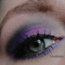 Purple Ombré Makeup