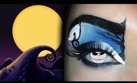 Nightmare Before Christmas Makeup Tutorial