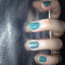 turquoise and crackle