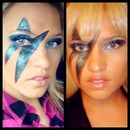 Lady Gaga makeup!
