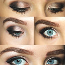 Champagne Smoky Eyes Makeup