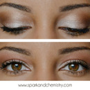 Romatic Gold Makeup Look