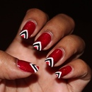 T&T Independance Day Nails