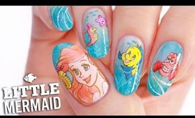 Disney's Little Mermaid Nail Art Tutorial