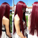 Loving my wine red hair <3
