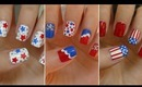 Fourth of July Nails!!! ☆ Three Easy Designs!