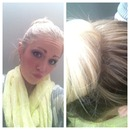 Sock Bun With Hair Extensions