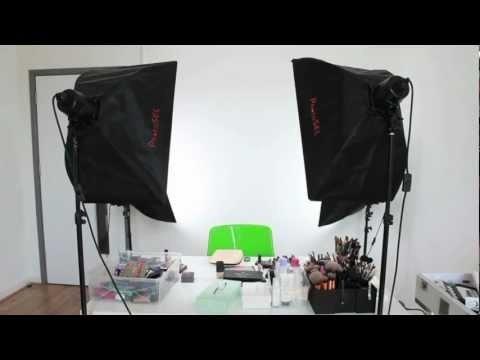 5 Star Ford >> Lighting & Camera Set-up for YouTube Make-up Tutorials ...