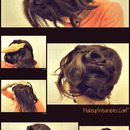 Knotted Waterfall Braid Hair  Tutorial Video