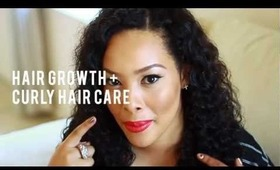 Hair Growth Tips + Curly Hair Care