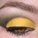 Loki inspired makeup