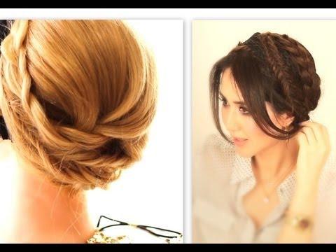 ★cute fall headband hairstyles 1  everyday crown braid