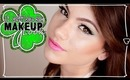 Gorgeous Greens ♥ St. Patrick's Day Makeup Look! | Kayleigh Noelle
