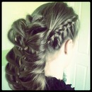 Side Dutch cage braid