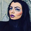 Halloween Pop Art Makeup