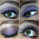 Lavender Smoky Eye