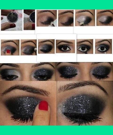 Как правильно сделать макияж глаз фото поэтапно