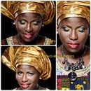 Traditional African bride(engagement look)