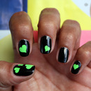 Vinyl Heart Nail Art Decals