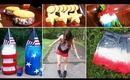 DIY 4th Of July Ideas: Desserts, Outfits, Dip Dyed Shorts, + Decorations!
