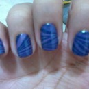 Water Marble Blue/Purple
