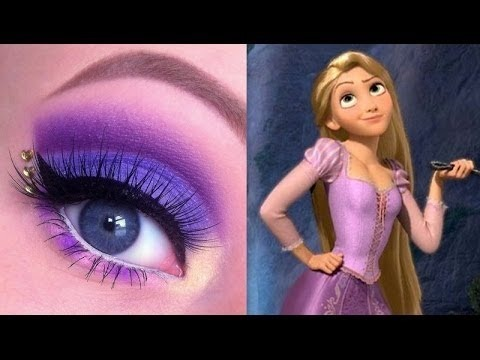 Princess Rapunzel Makeup Tutorial Glittergirlc Video Beautylish