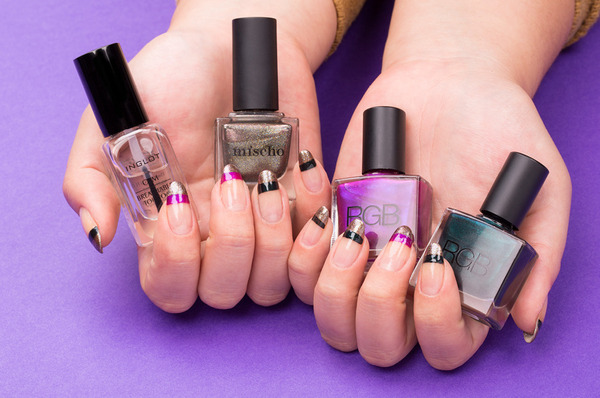 How To: The Double-French Mani
