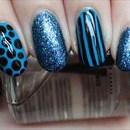 Blue Fiend Nails