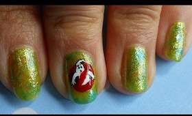 Ghostbusters Nail Tutorial