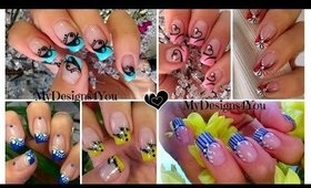 French Tip Nail Art Compilation | MyDesigns4you ♥