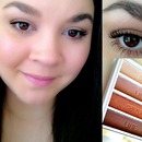 Follow Along Tutorial with ELF Beautiful Browns Quad