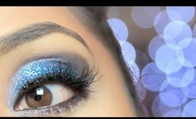 Holiday Glitzy Smokey Eyes- Tutorial