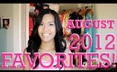 August 2012 Beauty Favorites