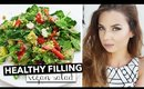 Healthy Filling Salad Recipe - Vegan, Healthy, Weight Loss