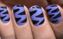 Purple Tiger Nail Art Designs Easy Youtube Do It Yourself Nails Step By Step How To Do Nails Art