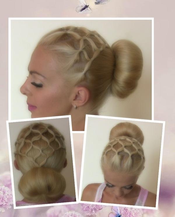 Как из волос сделать сеточку 637
