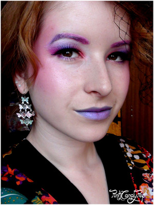 The Hunger Games - Effie Trinket inspired make up